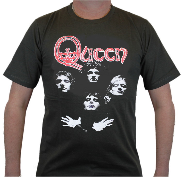 Queen faces T-shirt