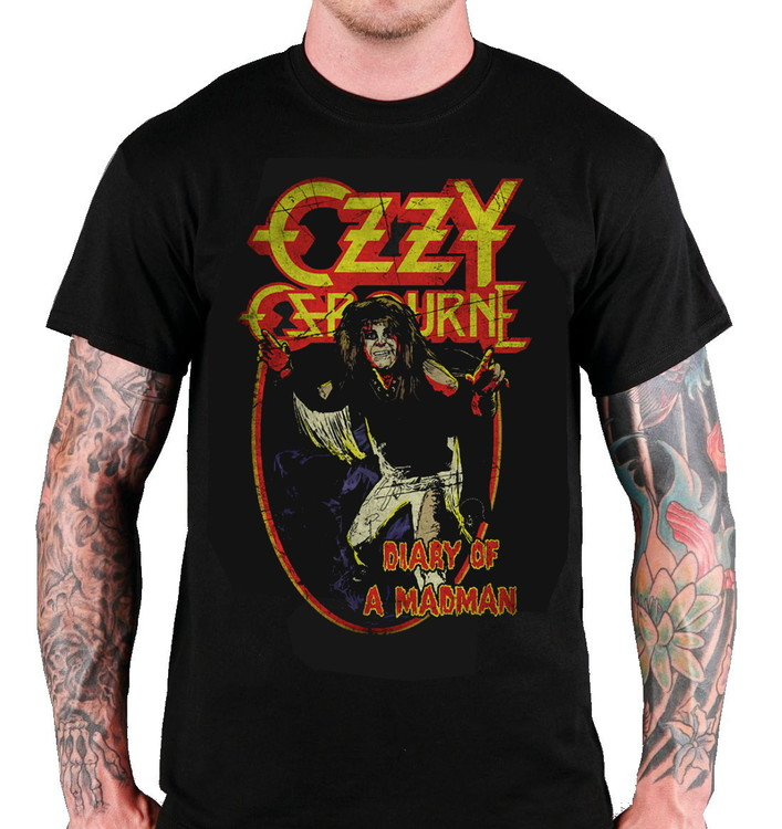 "Ozzy Osbourne ""Diary of a mad man"" T-shirt"