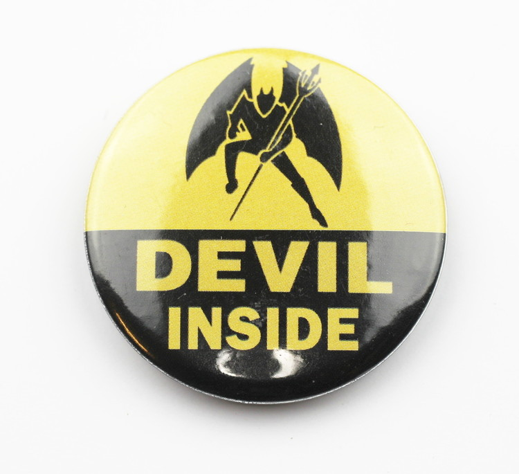Pin Devil inside
