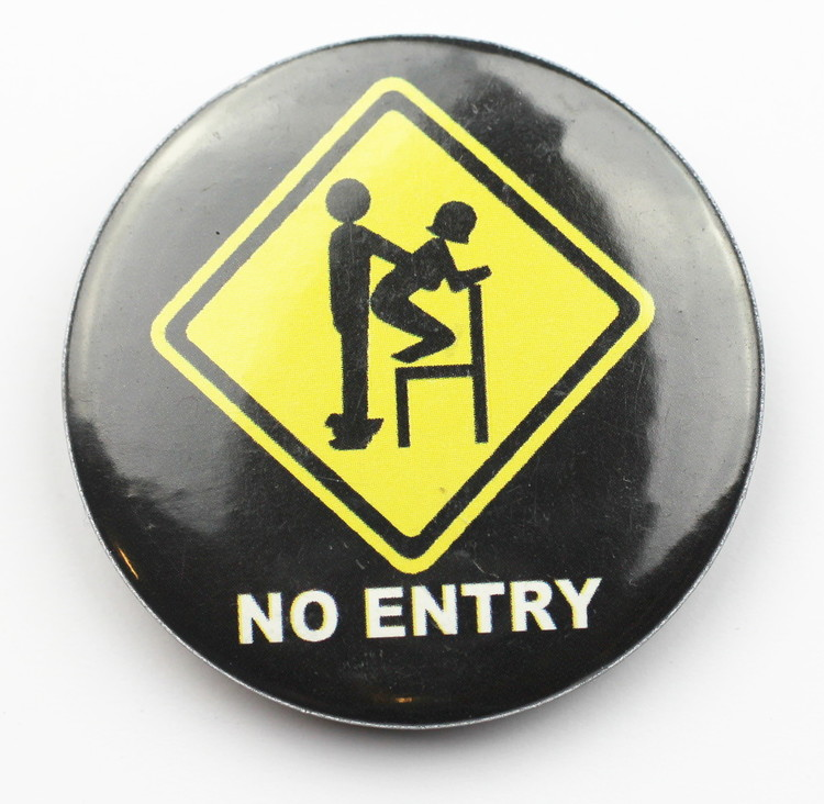 Pin No entry