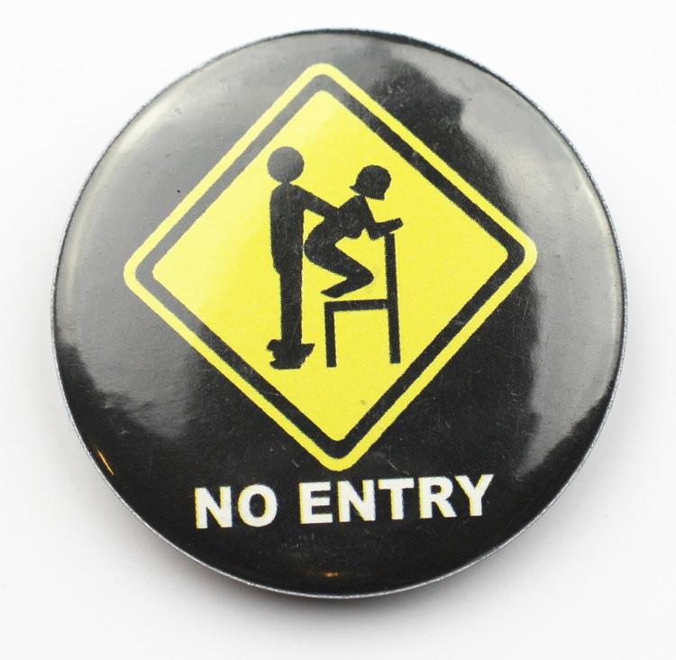 Pin No entry