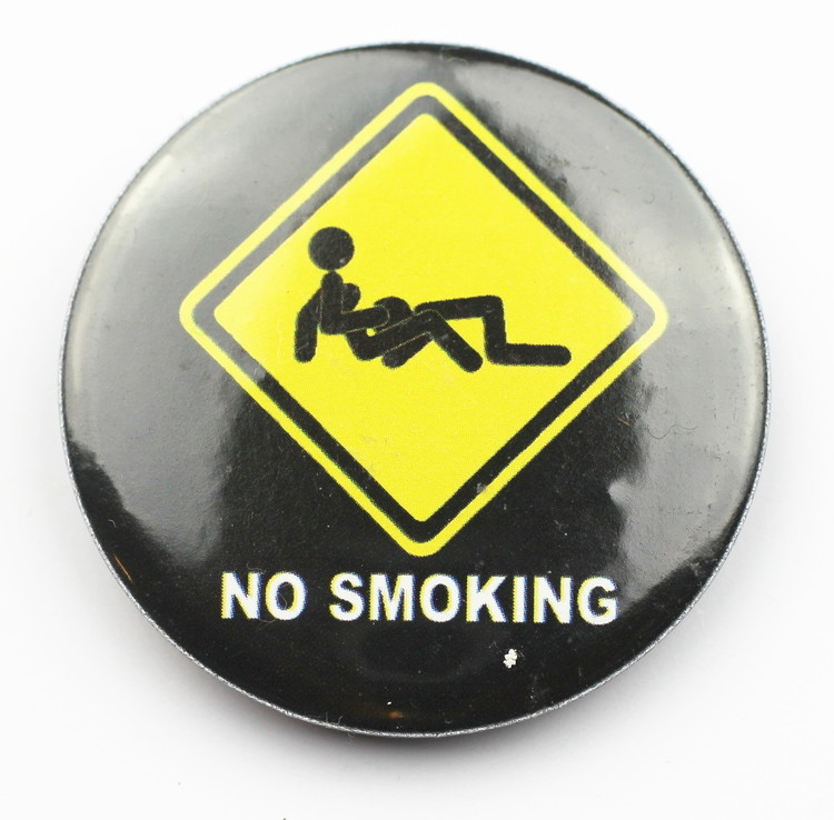 Pin No smoking