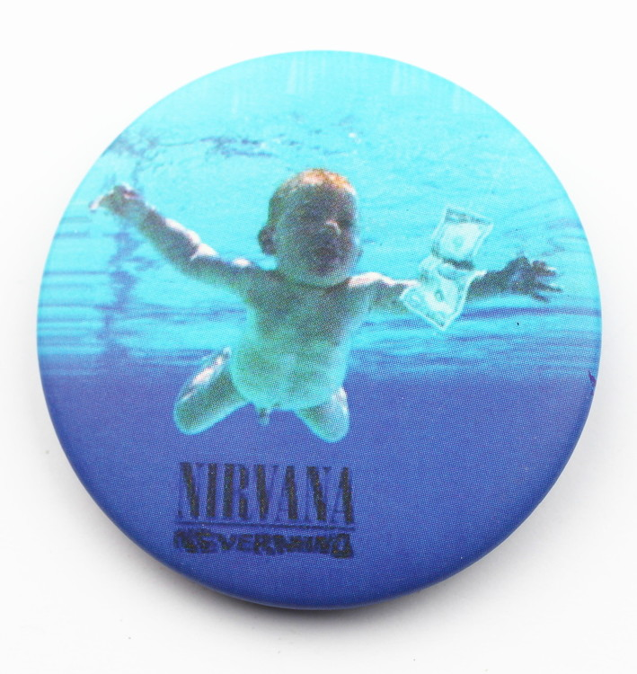 Pin Nirvana nevermind