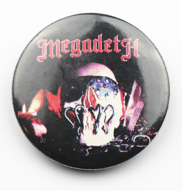 Pin Megadeath