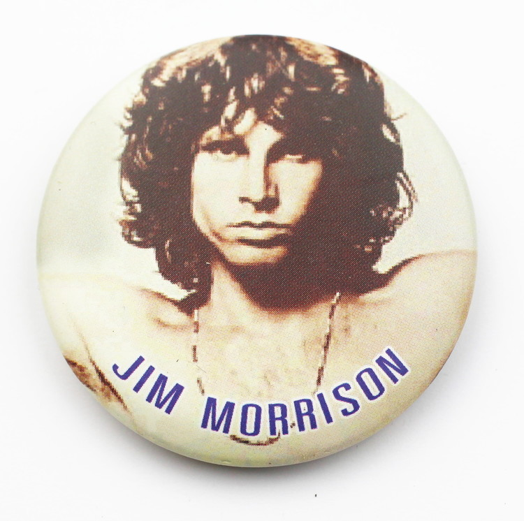 Pin Jim Morrison