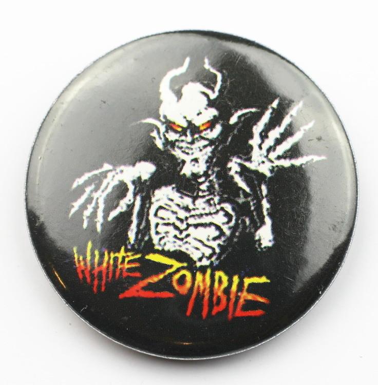 Pin White zombie
