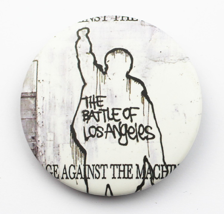 Pin Rage against the machine