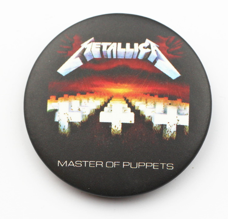 Pin Metallica Master of puppets