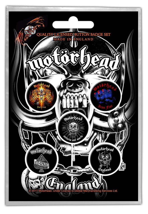 Motörhead 5-pack badge