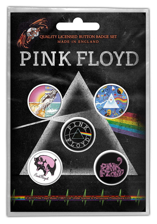 Pink floyd 5-pack badge