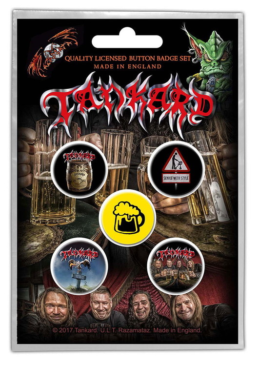 Tankard 5-pack badge