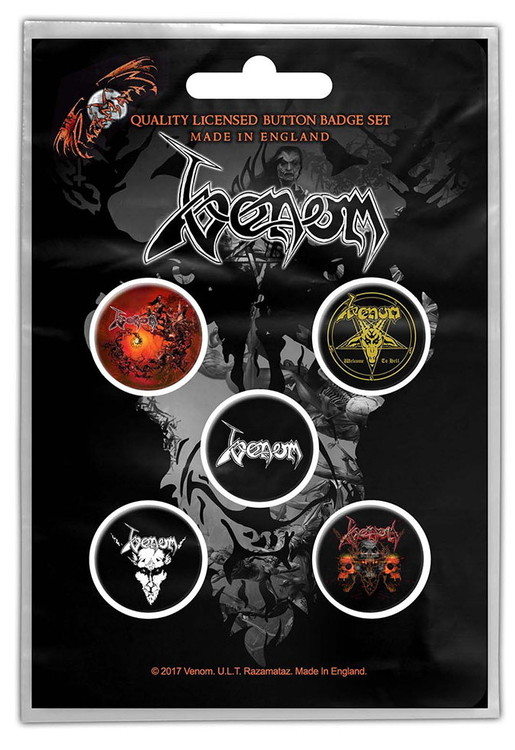 Venom 5-pack badge