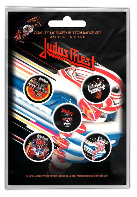 Judas priest 5-pack badge