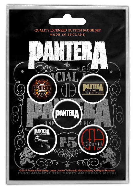 Pantera 5-pack badge