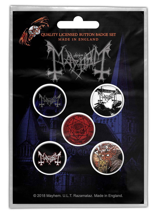 Mayhem 5-pack badge