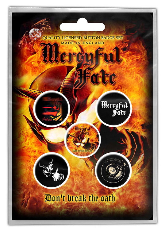 Mercyful fate 5-pack badge