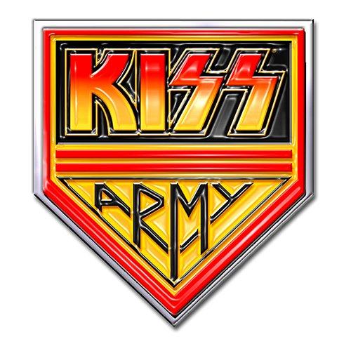 Kiss army pin