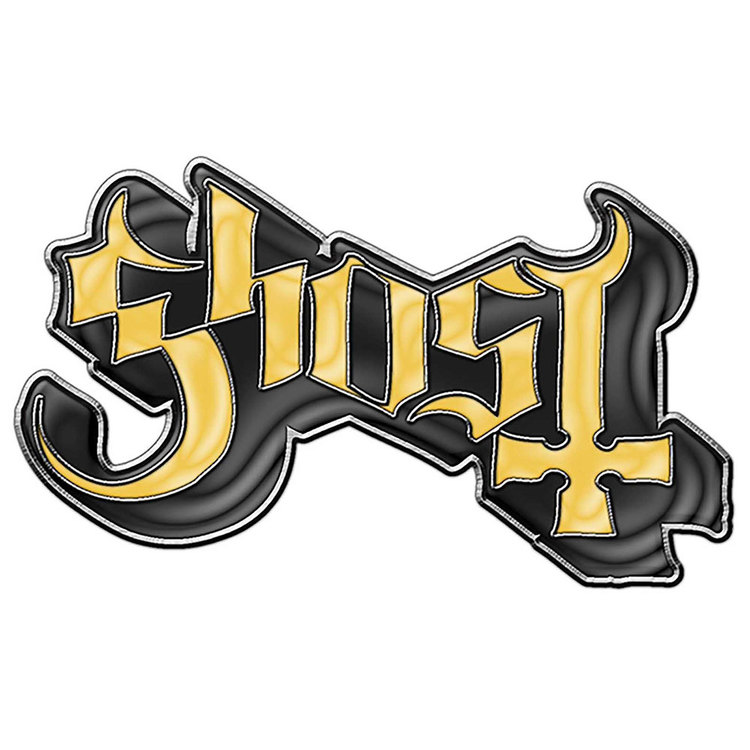 Ghost logo pin