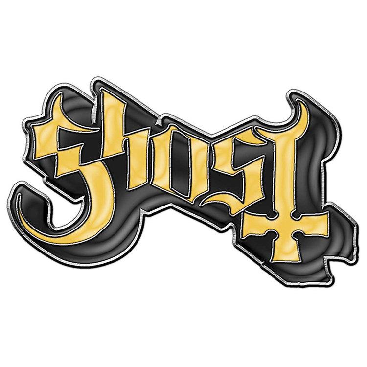 Ghost logo pin