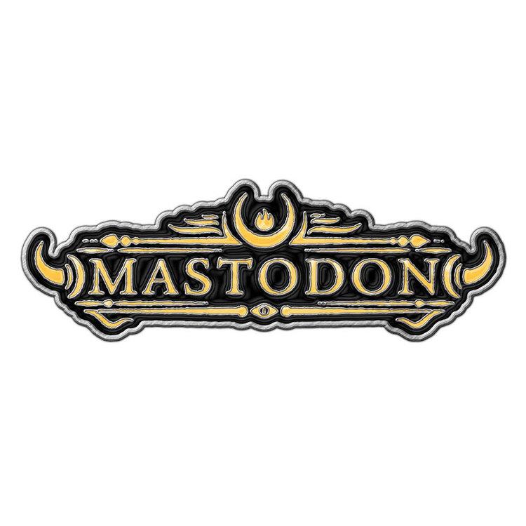 Mastodon pin