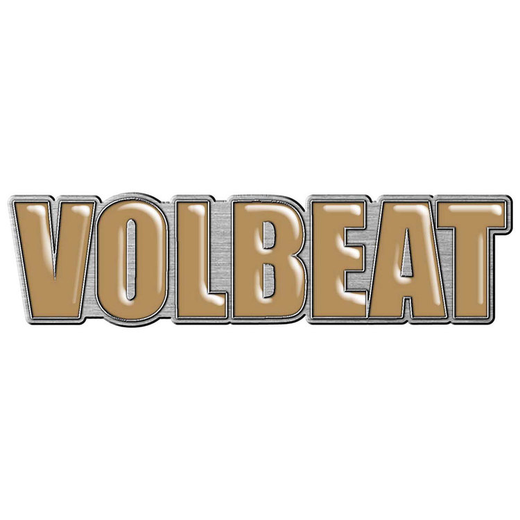 Volbeat logo pin