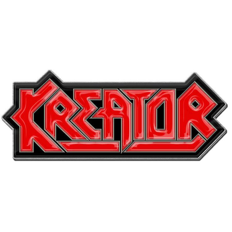Kreator logo pin