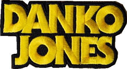 Danko jones Logo patch