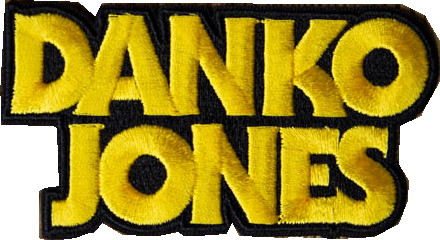 Danko jones Logo patch