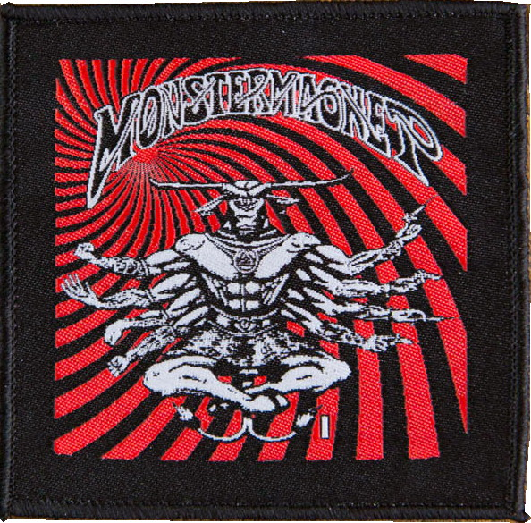 Monster magnet Eight arms patch