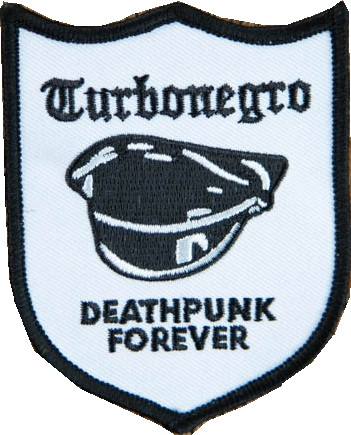 Turbonegro deathpunk forever patch