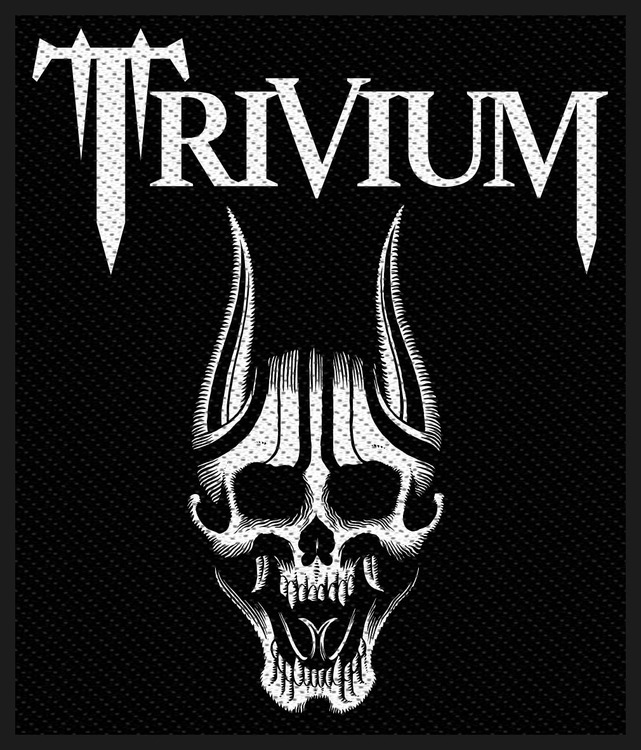 Trivium 'Screaming Skull' Patch