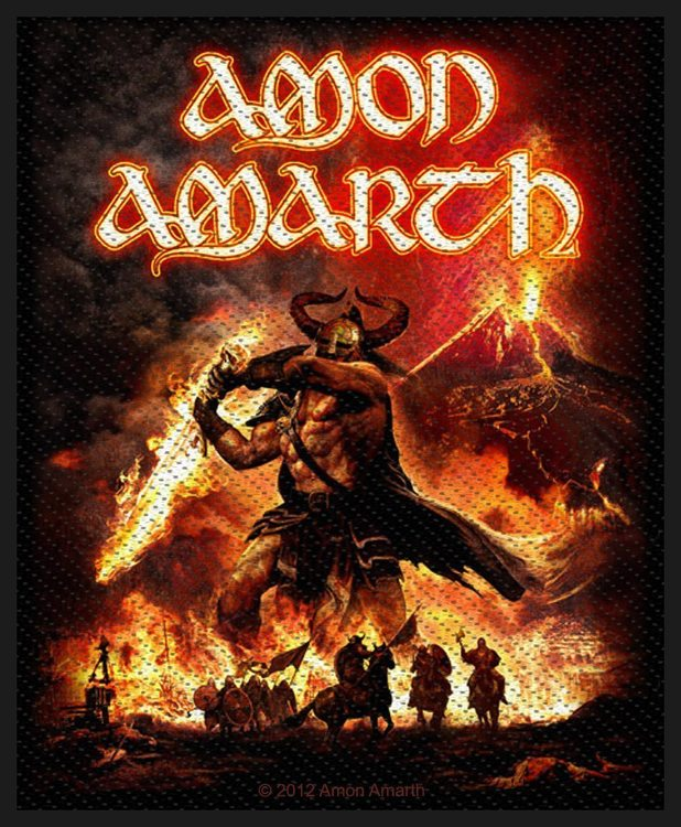 Amon Amarth 'Surtur Rising' Patch