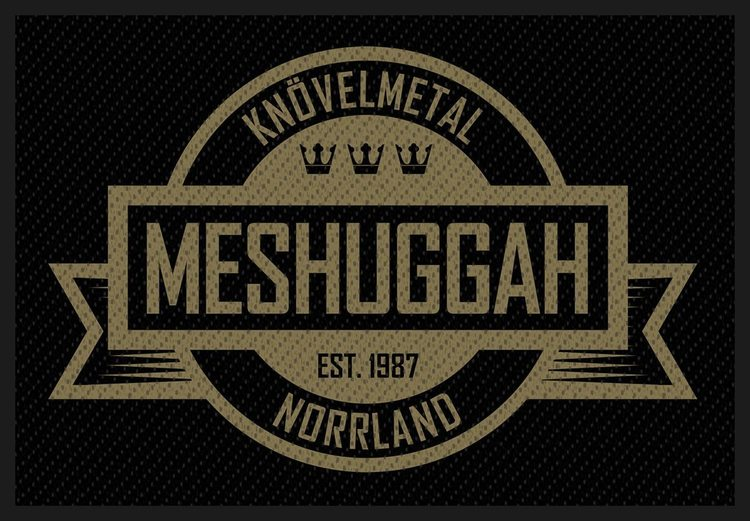 Meshuggah 'Crest' Patch