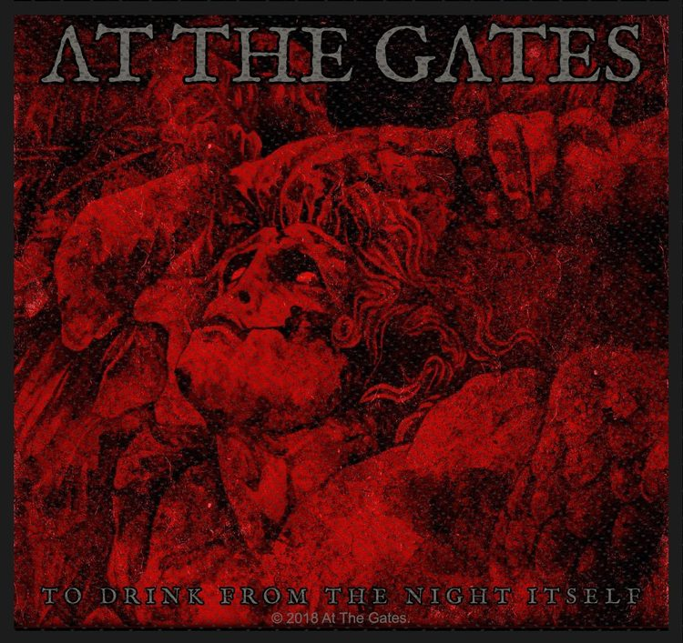 At The Gates 'To Drink From The Night Itself' Patch