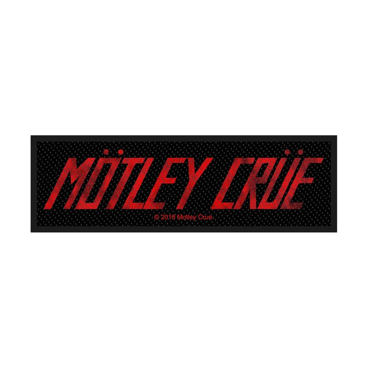 Mötley Crue 'Logo' Patch