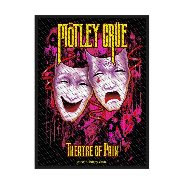 Motley Crue 'Theatre Of Pain' Patch