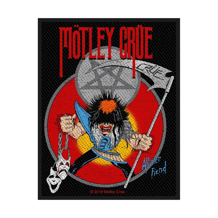 Mötley Crue 'Allister Fiend' Patch