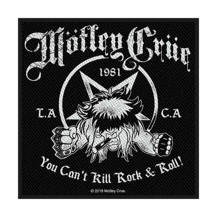 Motley Crue 'You Can't Kill Rock N Roll' Patch