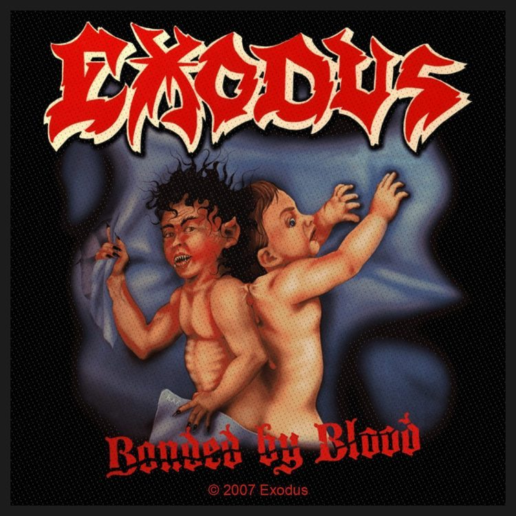 Exodus 'Bonded By Blood' Patch