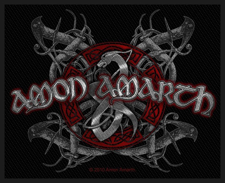Amon Amarth 'Viking Dog' Patch