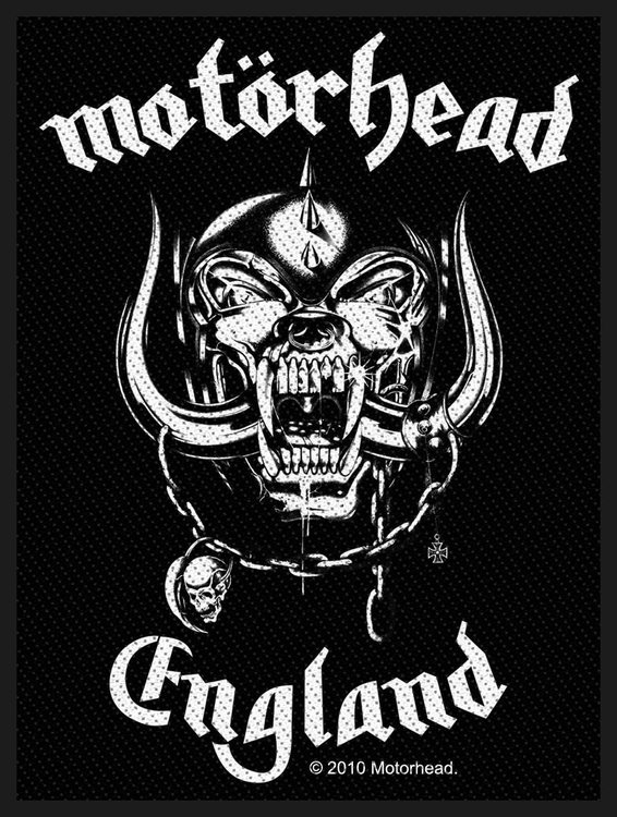 Motörhead 'England' Patch