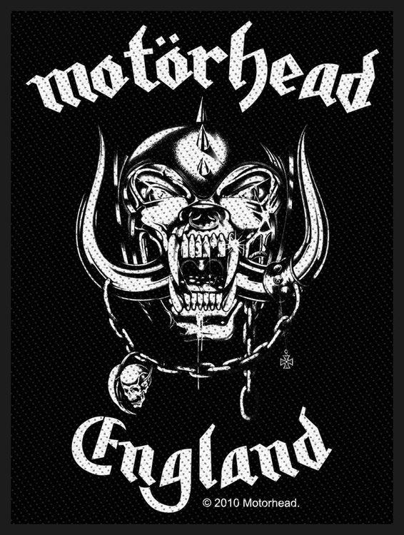 Motörhead 'England' Patch