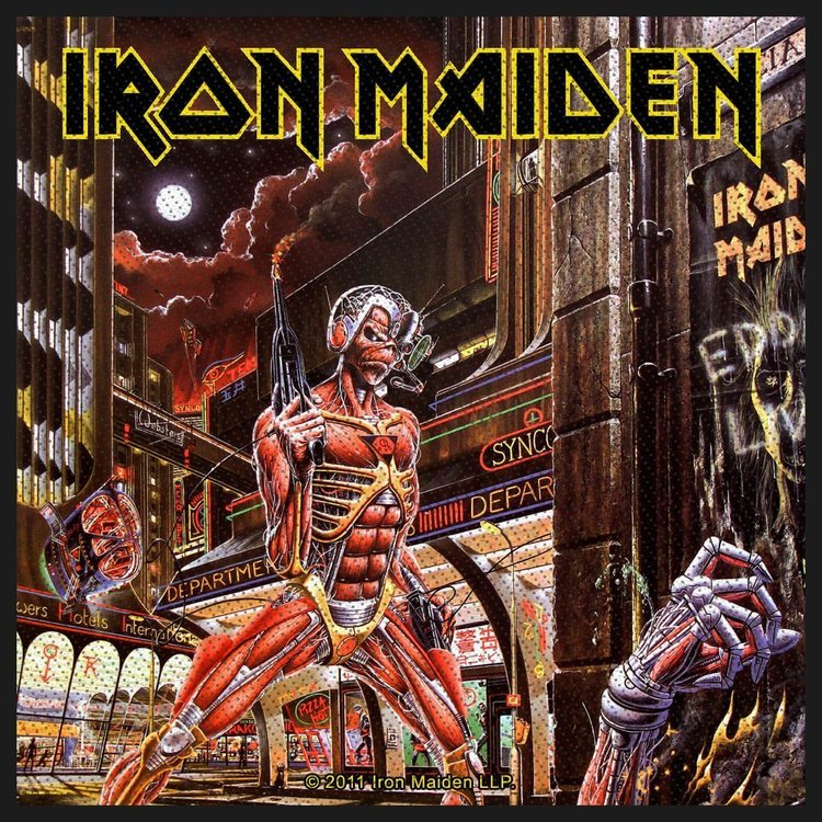 Iron Maiden 'Somewhere In Time' Patch