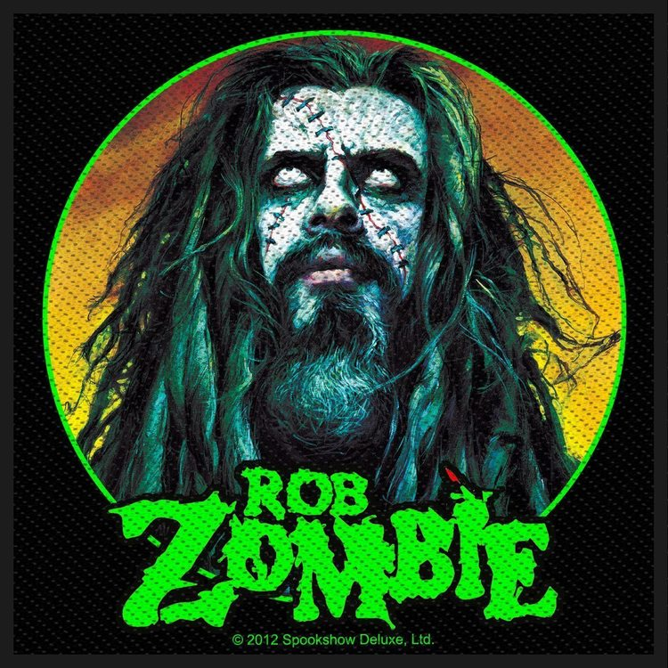 Rob Zombie 'Zombie Face' Patch