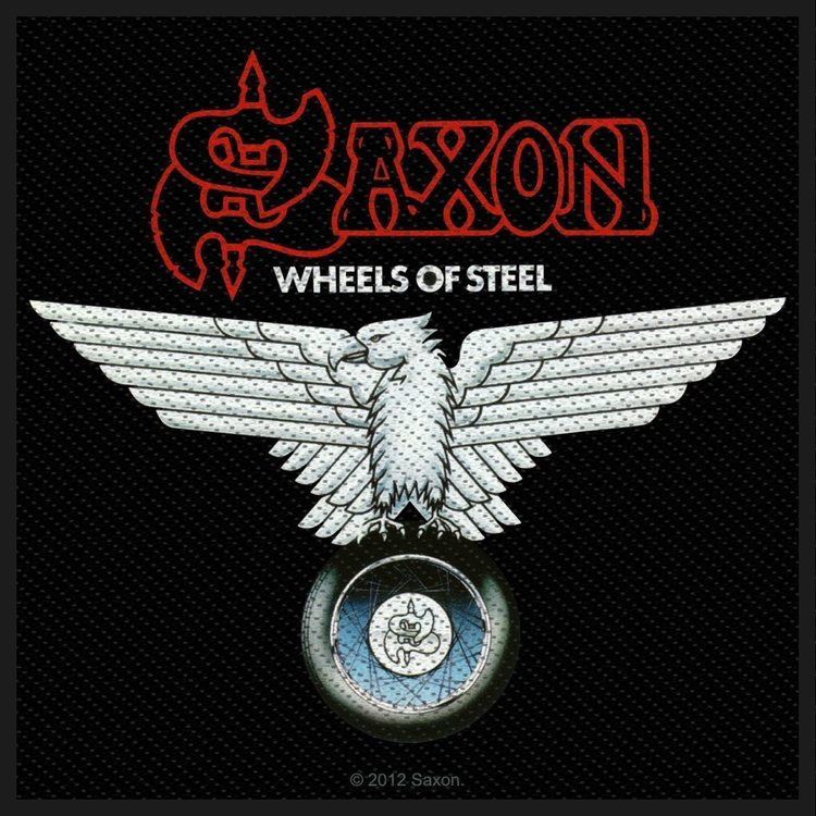 Saxon 'Wheels Of Steel' Patch