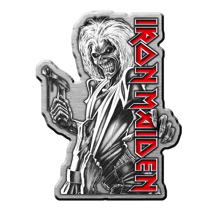 Iron maiden killers pin