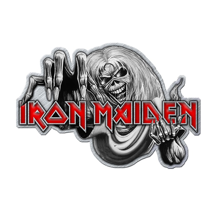 Iron maiden Number of the beast pin