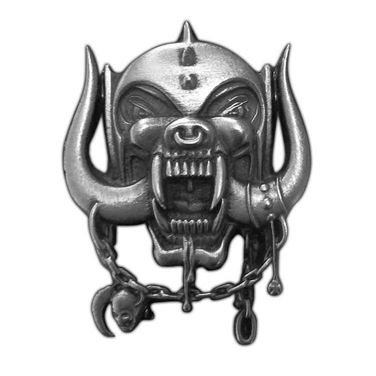 Motorhead 'Metal Warpig' Metal Pin