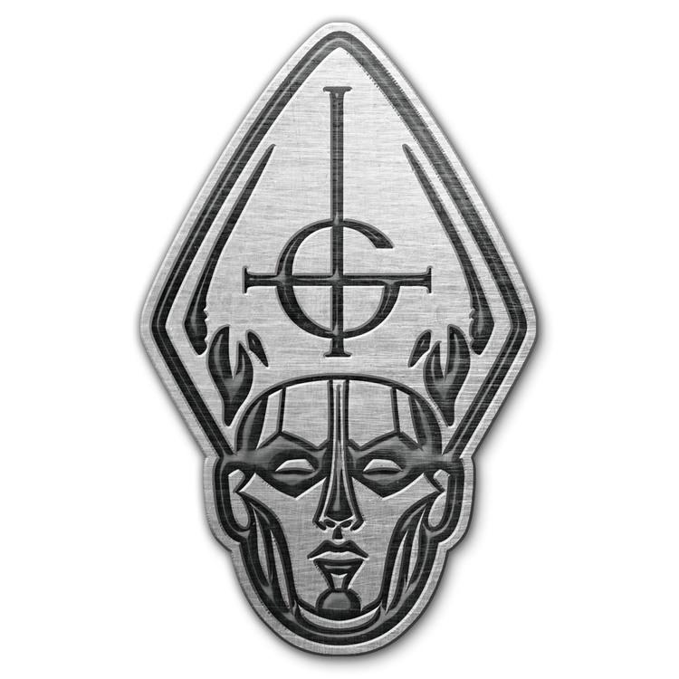 Ghost Papas head pin