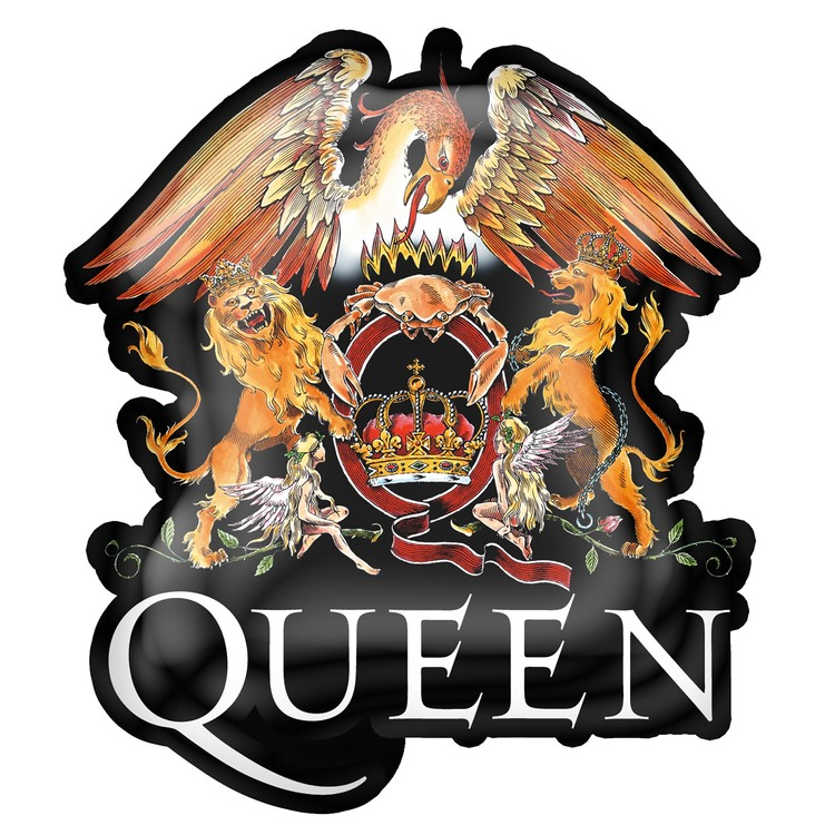 Queen 'Crest' Metal Pin